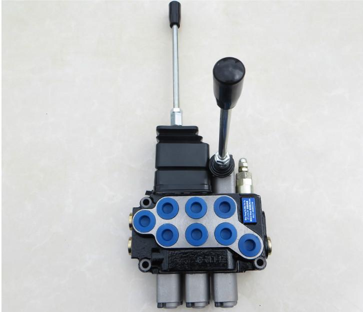 古达 一到六联整体式液压多路换向阀油缸马达分配器液压阀手动换向阀图片
