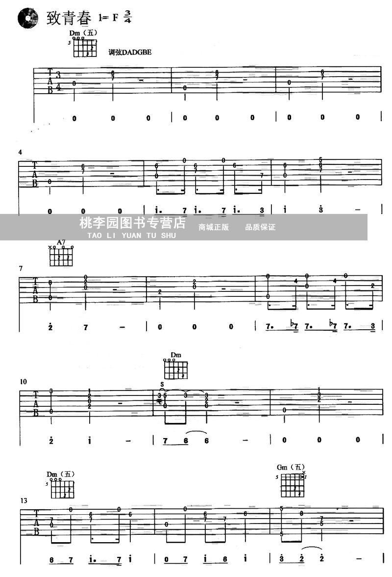 琴歌指弹吉他独奏曲精编集