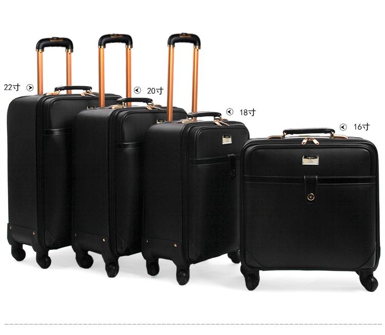 风范商务登机箱拉杆箱万向轮行李箱女男旅行箱航空箱16寸18寸20寸22