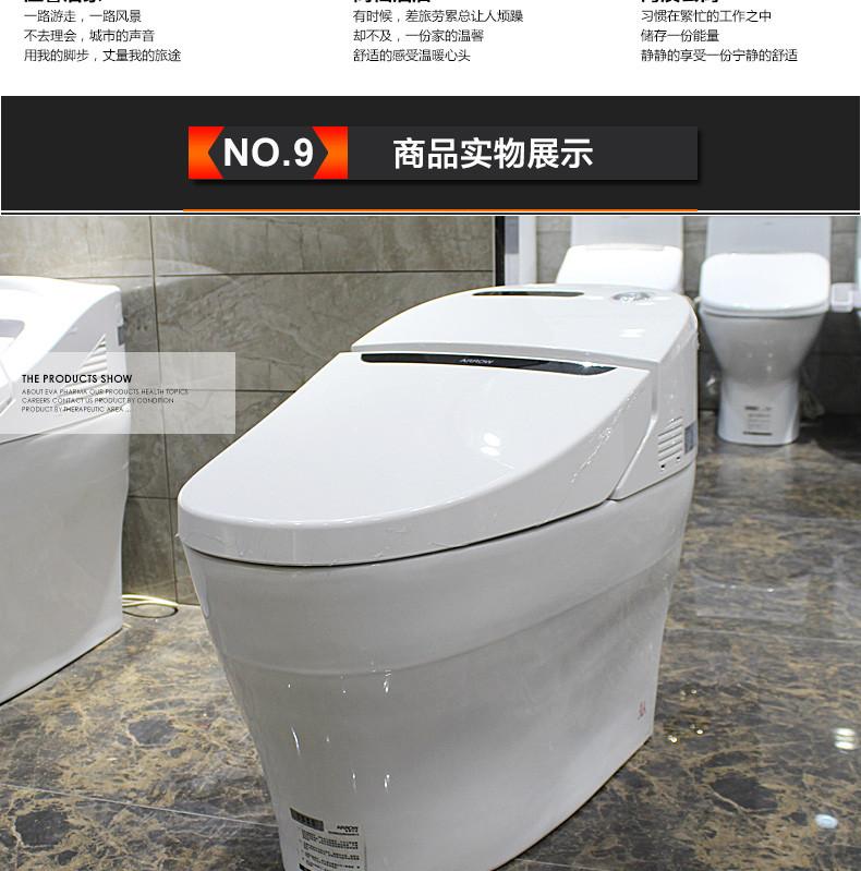 智能一体式马桶坐便器自动冲洗座便器akb1