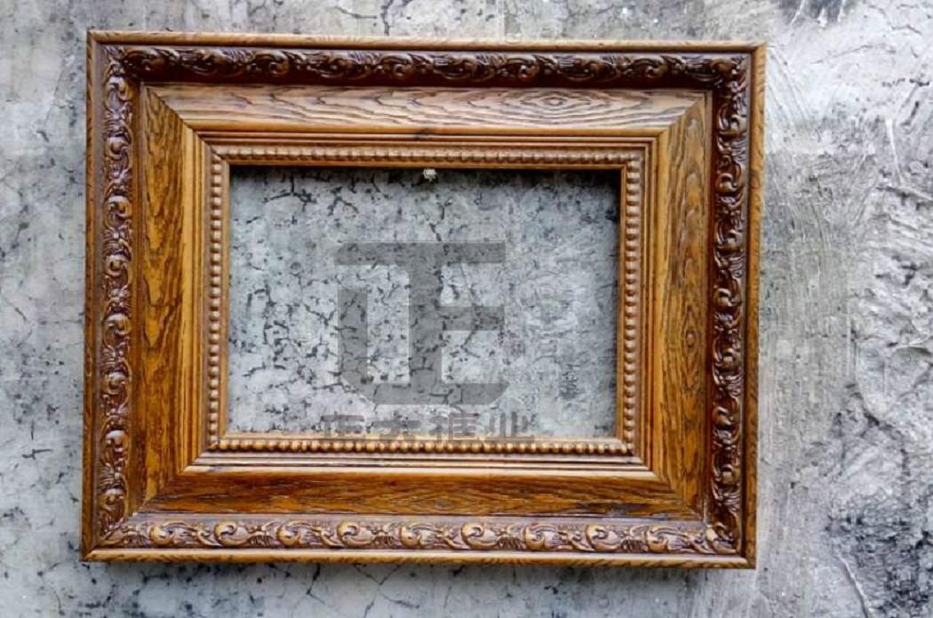 新款特价包邮欧式复古实木油画框外框定制3040506090婚纱照相框定做