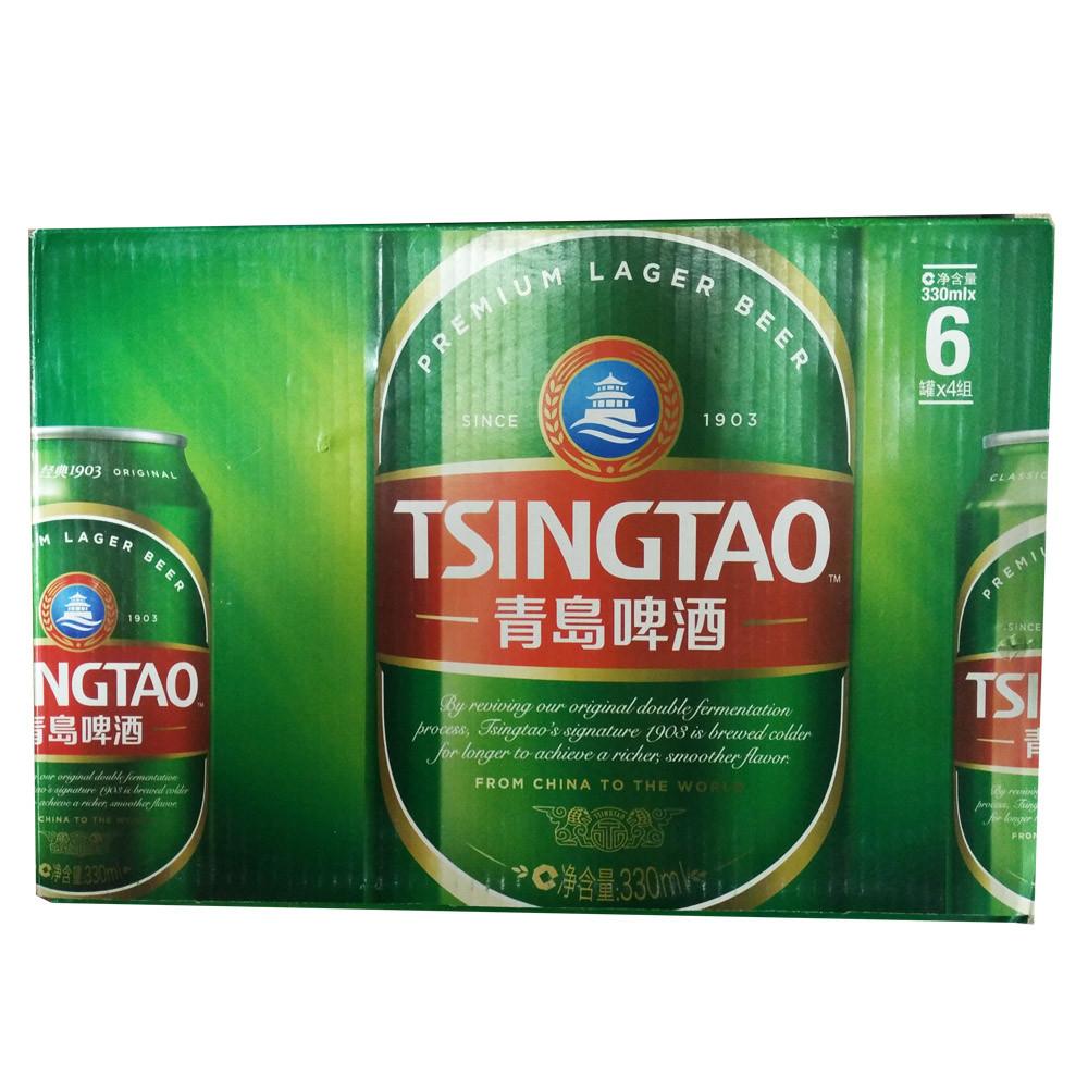青岛啤酒 经典1903(10度)330ml*24罐
