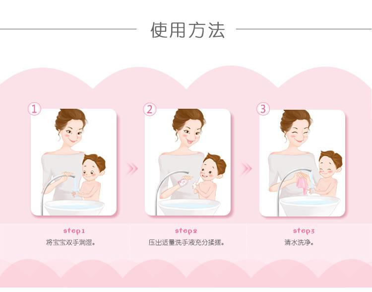 【苏宁专供】红色小象 儿童净护洗手液 200ml