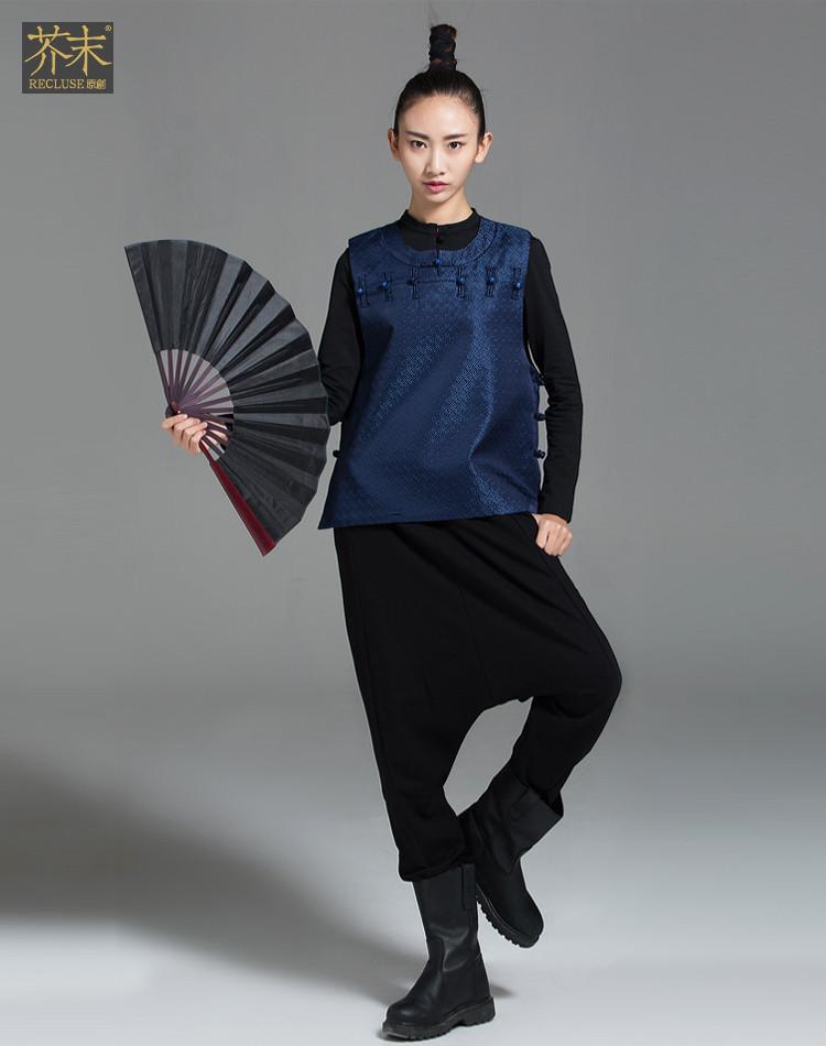服装鞋帽  【芥末原创】太保/新中式原创手工唐装图片