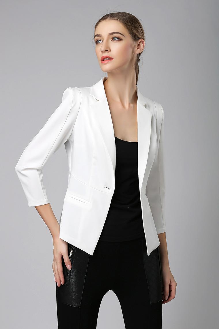 女士西服外套长款_白西装女中长款选什么牌子好 同款好推荐