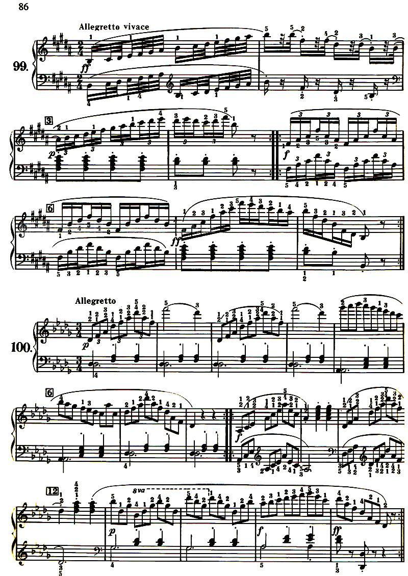 《车尔尼599钢琴初级教程》(美)威拉德·阿·帕尔默
