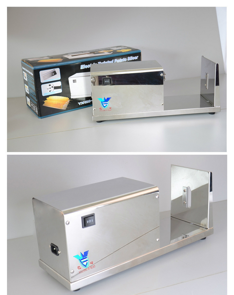 v手动薯手动塔机刻度薯片机休闲食品机械加工设镶条土豆环图片