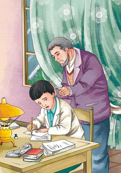 爱花钱的成年人如何教育_【当当网 正版图书】爱的教育 精美彩插(中小学新课标必读名著)56000