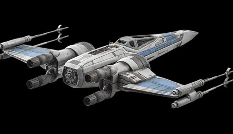 万代bandai星球大战starwars1:72星际战斗机义军版x