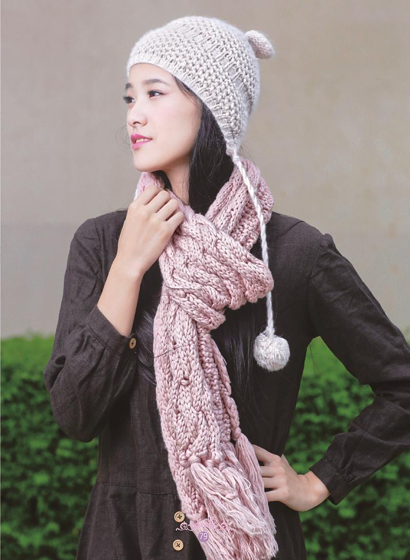 正版包邮 时尚编织帽子围巾披肩 阿瑛 中国纺织出版社 9787518030521