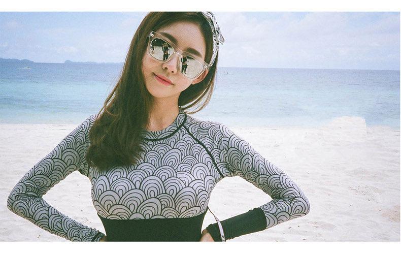 韩雪青青2017新款泳衣女经典纯色性感大胸钢