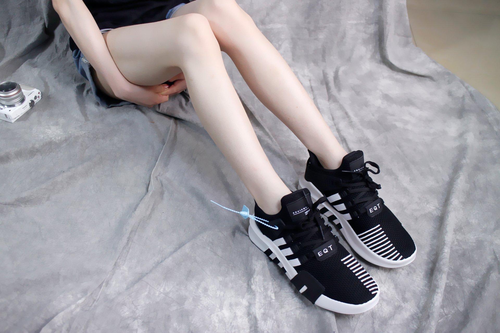 adidas 阿迪达斯三叶草女鞋 eqt bask adv 减震防滑