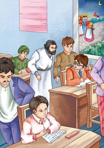 《无障碍展望阅读版《爱的教育》》[意]亚米契斯励志历史课件铭记未来图片
