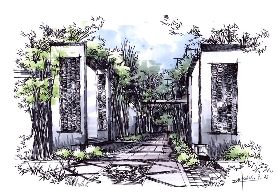 华中科技大学出版社园林景观/环境艺术 前言  景观设计手绘,手绘之前