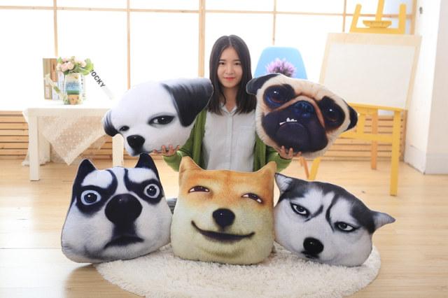 绒翼3D滑稽狗神烦狗头红包柴犬doge二哈方表情表情包春节给图片
