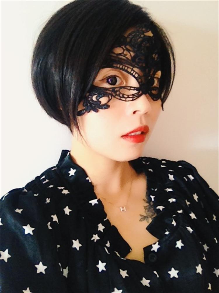 粉红猫情趣饰品老板蕾丝情趣面具sm用品眼罩配面纱女用成人用品美女上阵亲自试用饰品情趣用品玩具图片