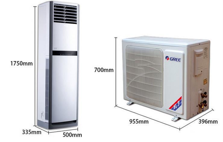 格力(gree) 3匹 定频 悦雅 冷暖 柜机空调 kfr-72lw