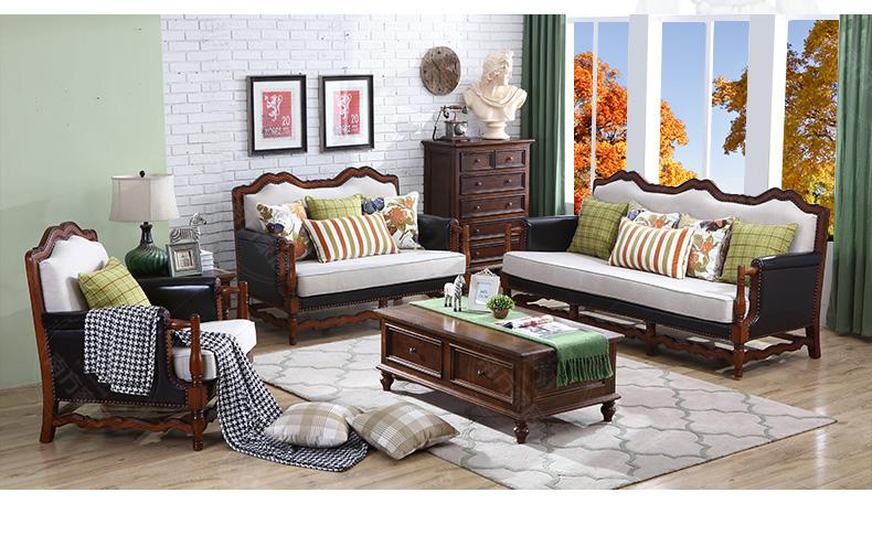 沙发脚:橡木实木脚,更加稳固结实; 3.