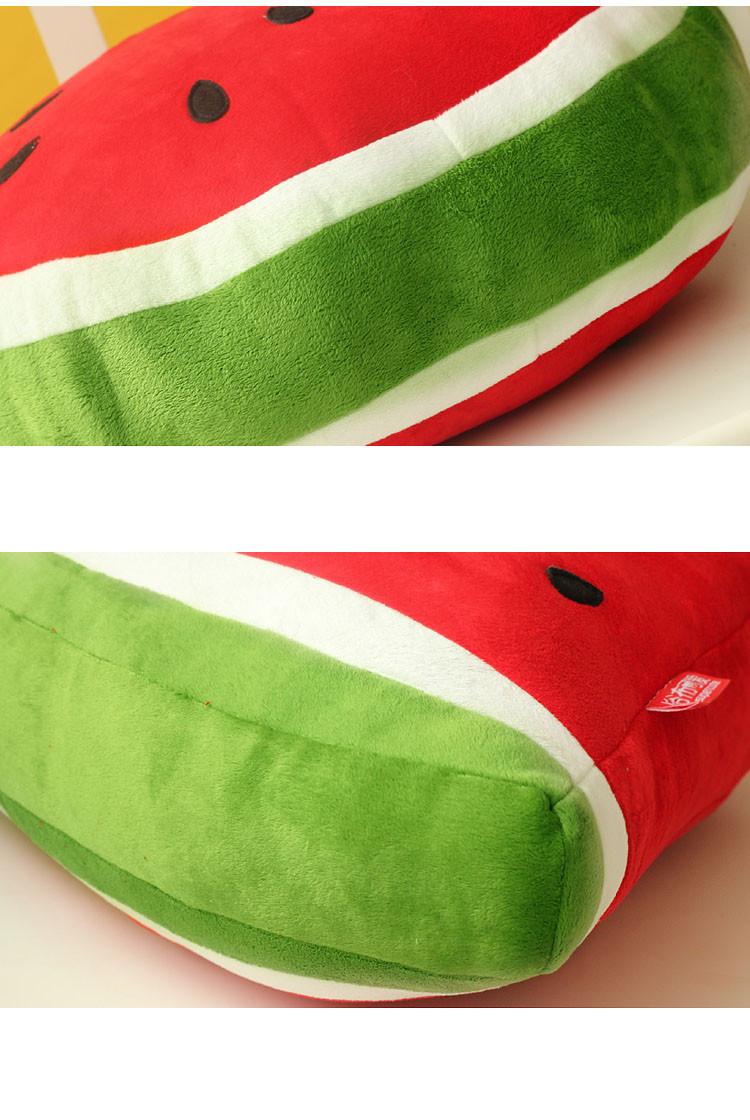 luckyted可爱卡通水果大西瓜毛绒玩具居家靠垫抱枕