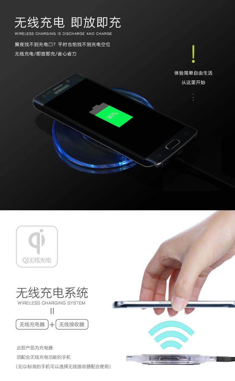华思泰-WX88无线充电器三星魅族note5s6华安卓qq伪装iphone在线图片