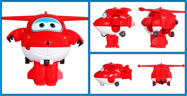乐迪变形飞机迷你套装儿童