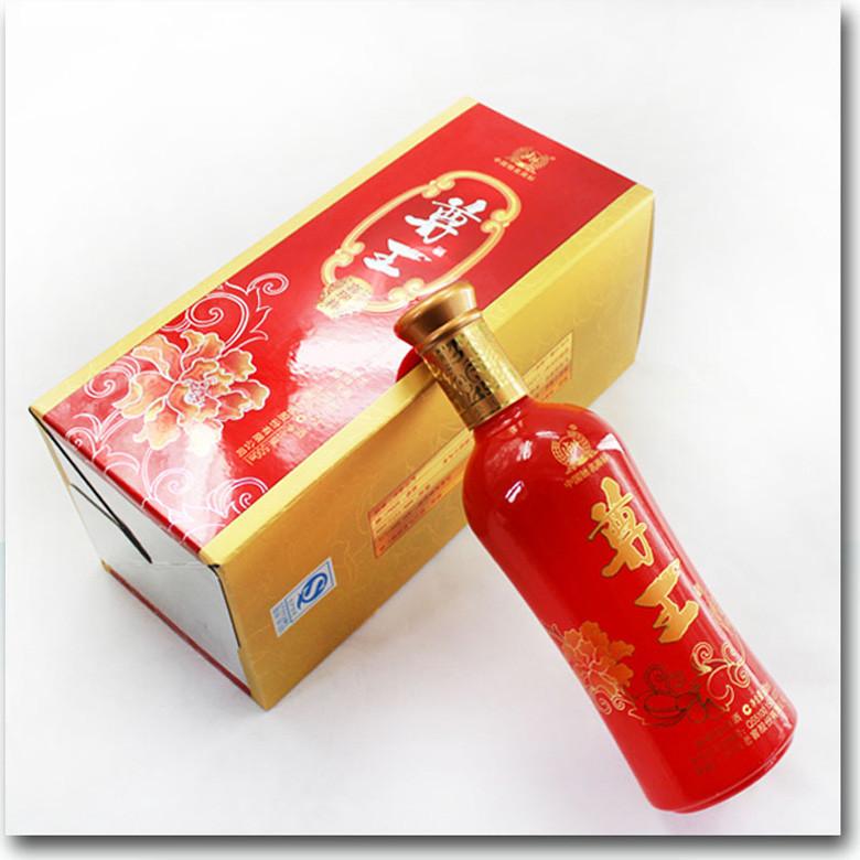 泸州老窖尊王喜瑞祥52度 2013版 新款结婚寿宴送礼白酒