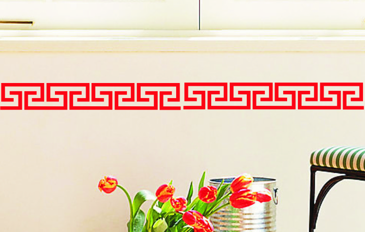 传统花边 中式花纹
