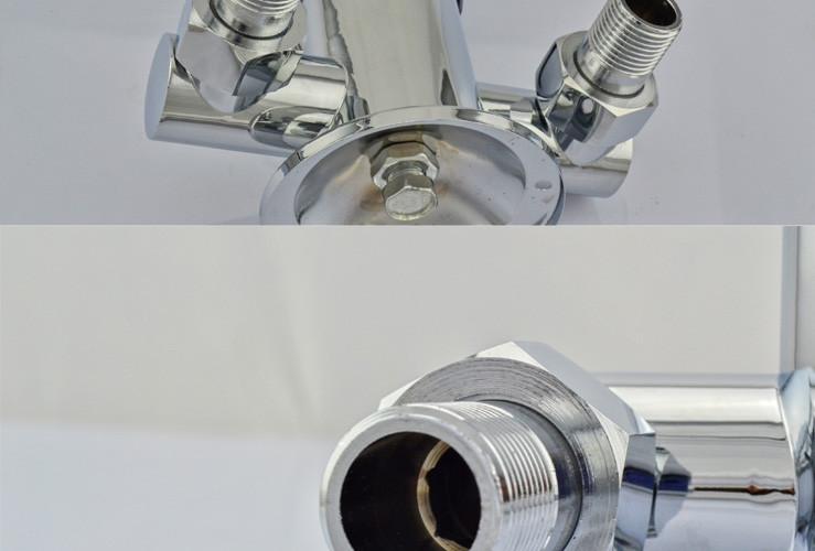 kes 全铜明装冷热淋浴沐浴水龙头 浴室卫生间太阳能上水混水阀 l616b图片