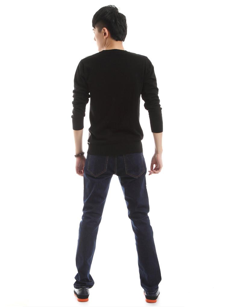 灰色长毛线衣裤子搭配图片