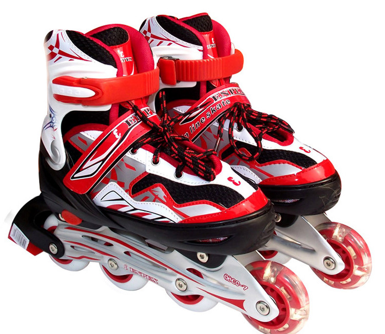 什么旱冰鞋好_乐士enpex ms168新款直排溜冰鞋/旱冰鞋/滑冰鞋(粉红色)(32-35)