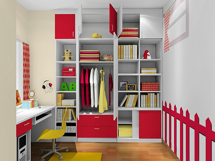 尚品宅配 儿童床 定制高低床上下床衣柜 儿童房家具组合包物流 其他