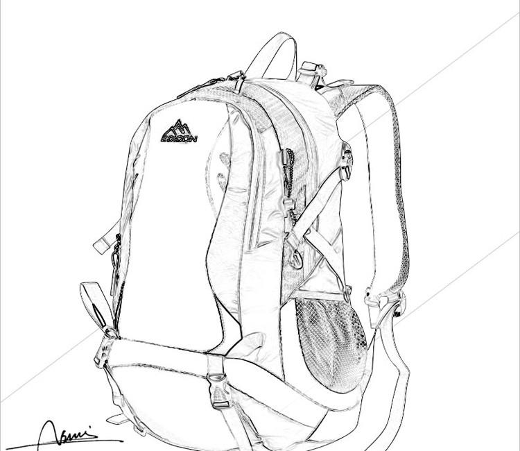 休闲登山包