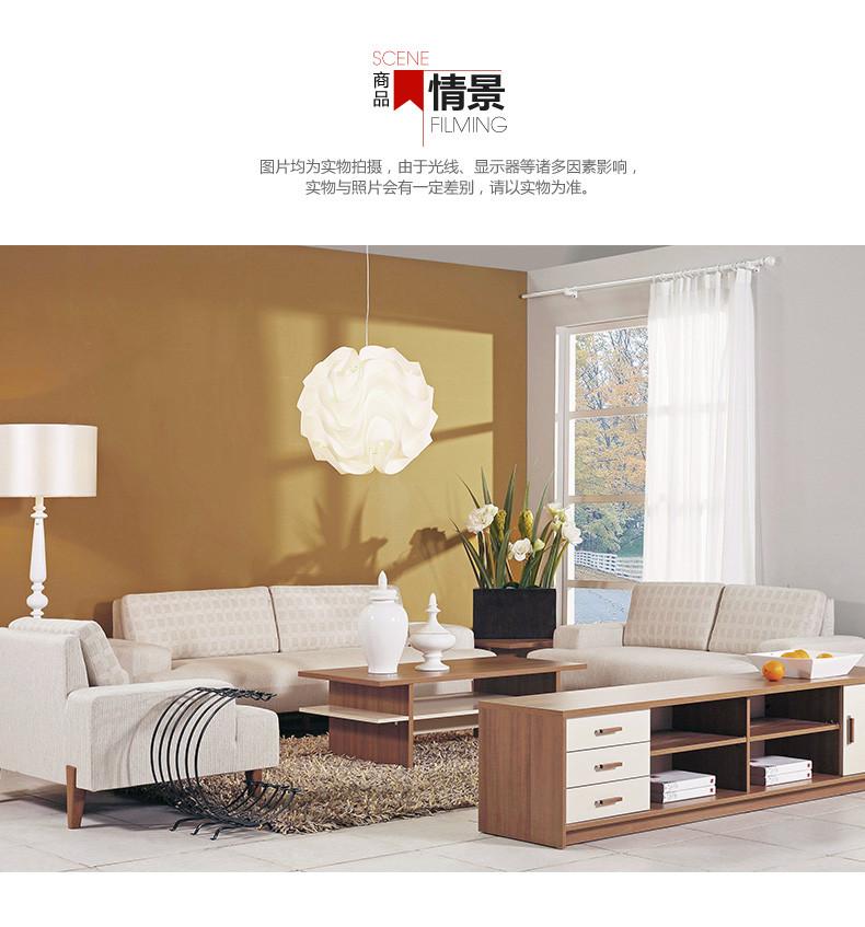 曲美家具 布艺沙发 客厅实木 布艺沙发 三人沙发 09zc