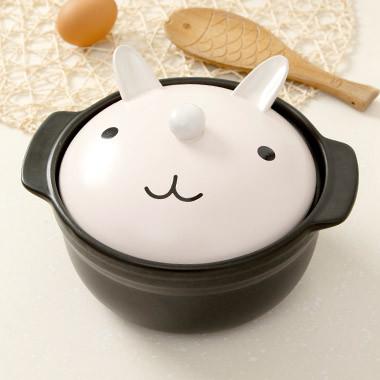 可爱卡通动物陶瓷大号砂锅煲