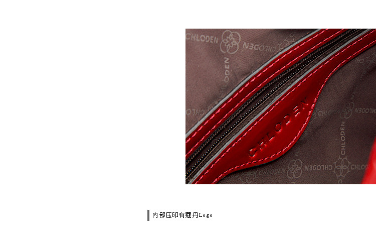 蔻丹2014秋冬新款包包欧美大牌鳄鱼纹牛皮手提单肩斜