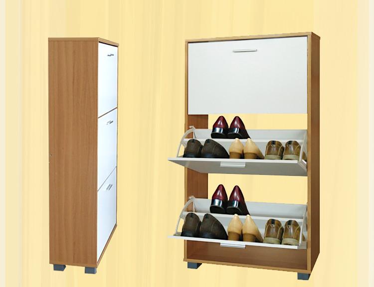 三层鞋柜安装步骤图