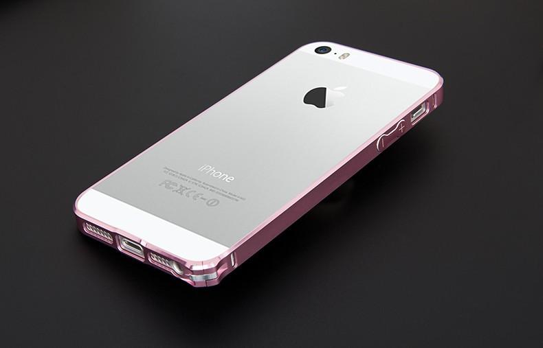 iphone5/5s手机壳iphone5超薄金属边框苹果5s
