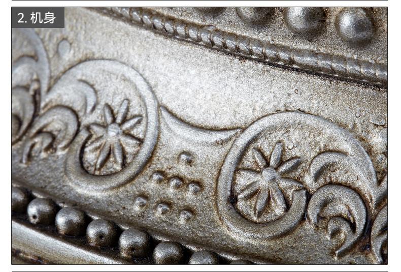 佳话坊(jiahua) 高档复古欧式电话机白色 古典老式仿古电话座机图片