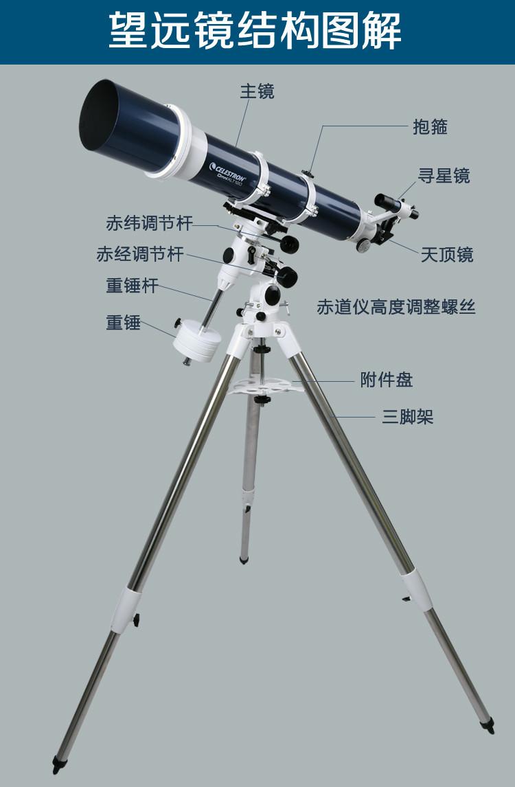 celestron星特朗omni 120 xlt 高端折射式天文望远镜