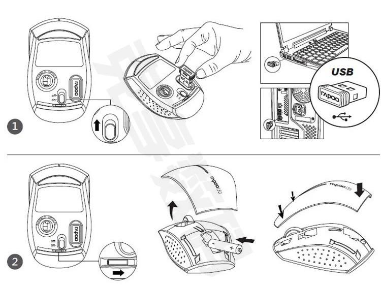 鼠标产品设计手绘稿