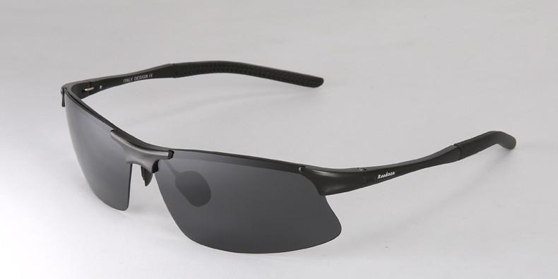 锐盾镜片弧线切割男士墨镜运动型树脂开车专用户外眼镜偏光太阳镜
