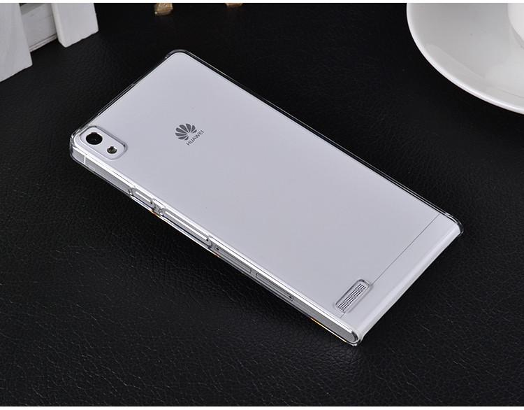 华为p6手机套 p6手机壳p6超薄保护套保护壳 tpu 软胶 p6 ascend手机图片