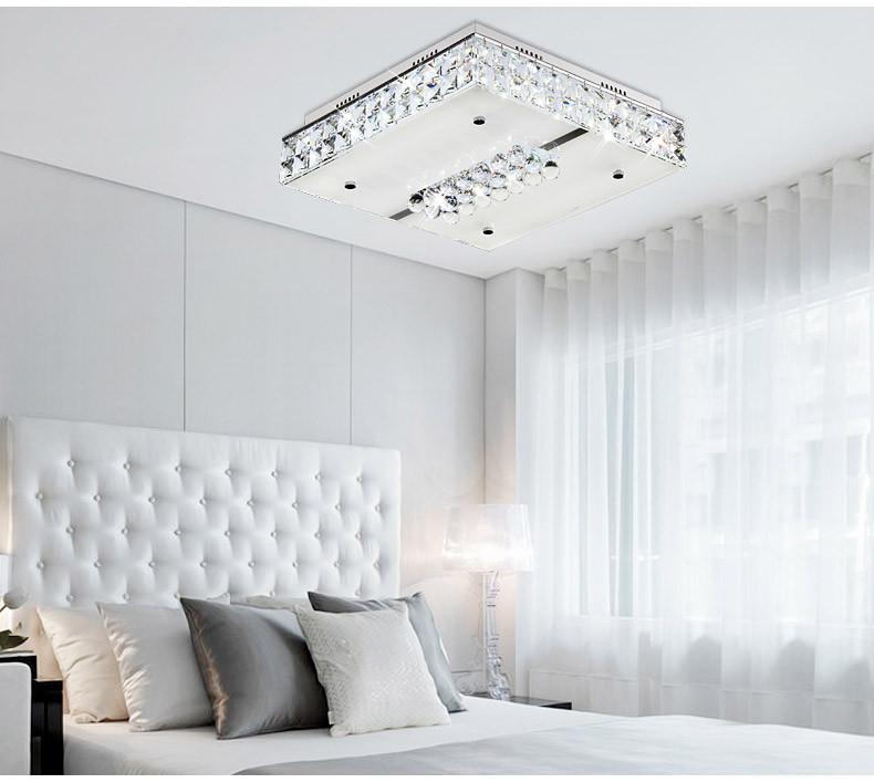 奧朵led吸頂燈 臥室燈具 現代 簡約 客廳燈水晶燈10629