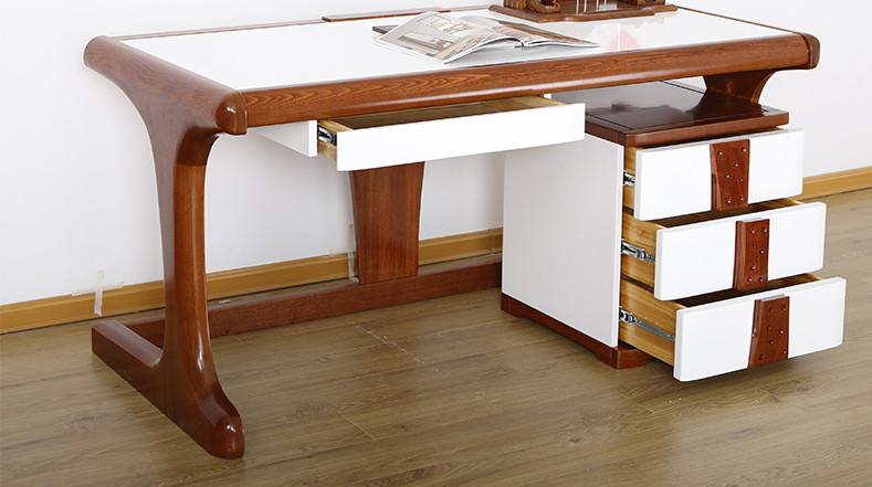 光明家具 纠错 颜色: 白色 纠错 家具材质: 木质 纠错 类别: 书桌