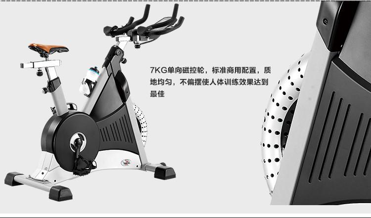 艾威高档电磁控竞赛车bc8500磁控健身车动感