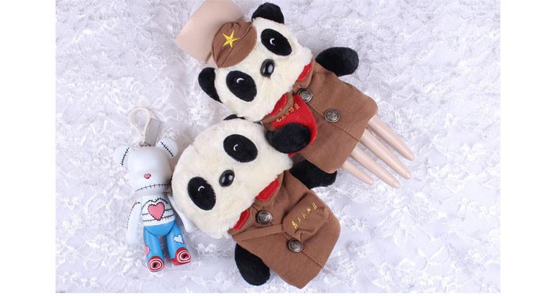 熊猫军团卡通手套
