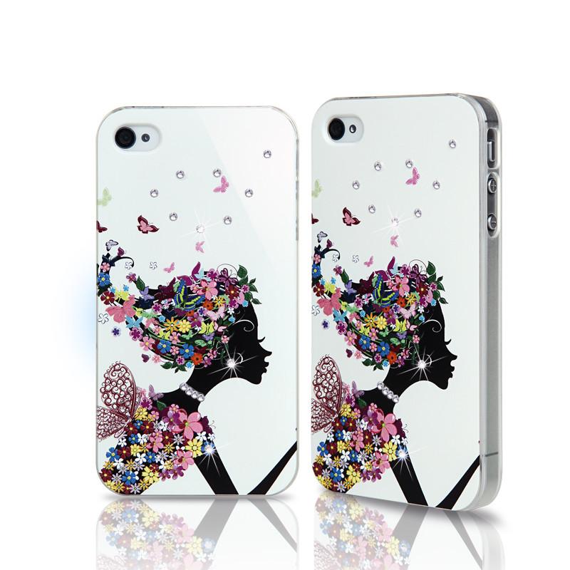rose苹果4s手机壳