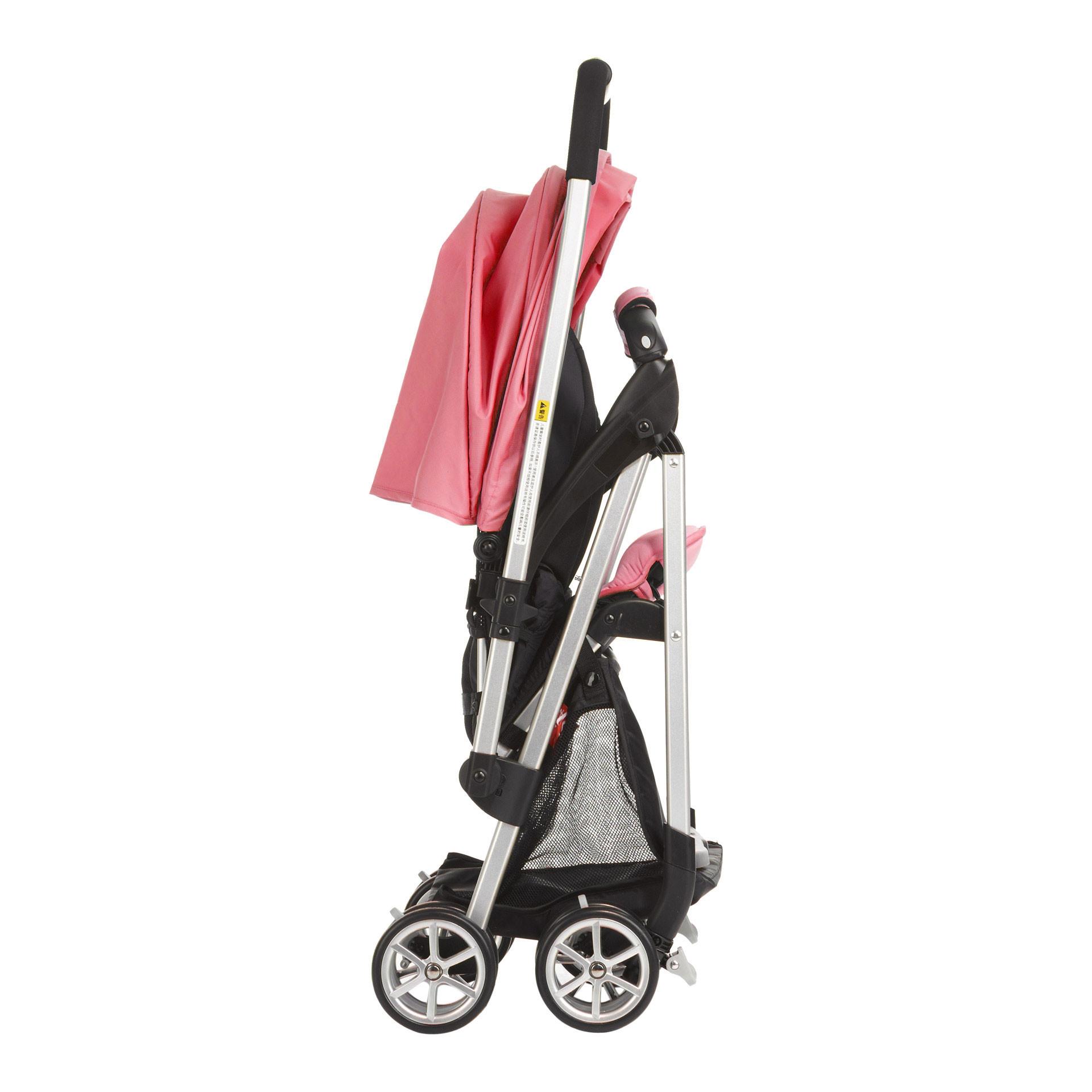 狂欢节 好孩子蜂鸟婴儿推车 伞车超轻便折叠 铝合金双向平躺d829 粉色