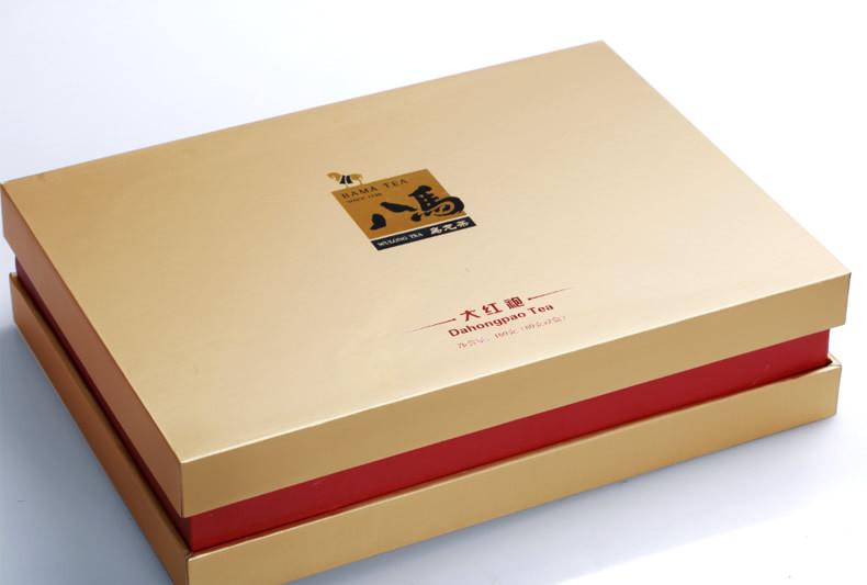 大红袍武夷山大红袍正宗岩茶乌龙茶叶高档礼盒160g