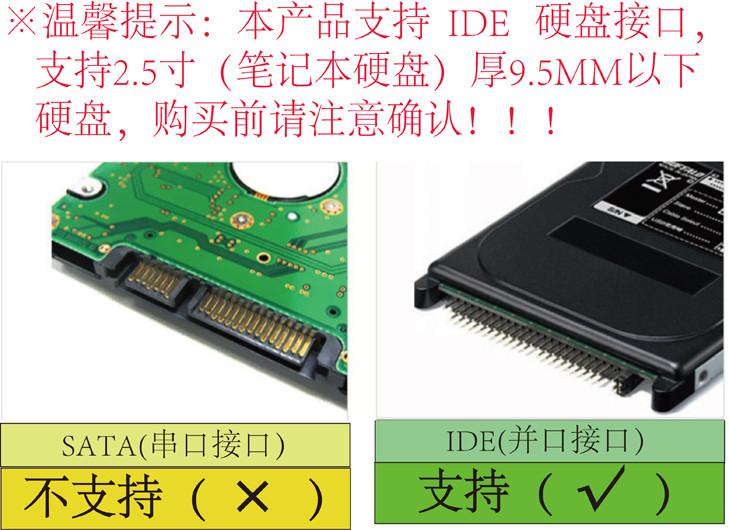 移动硬盘接口标准IDE图片